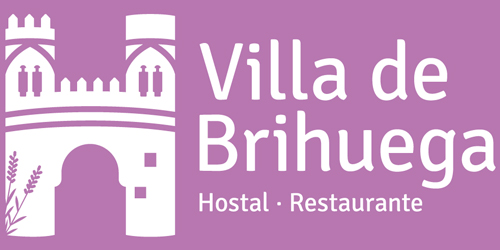 Logotipo del Hostal Villa de Brihuega