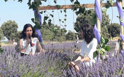 María y Laura Lara protagonizan el encuentro literario del Mes de la Lavanda