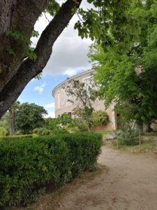 La Real Fábrica de Paños, desde los jardines.