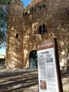 El Castillo de la Piedra Bermeja de Brihuega, un emblema de la Villa.