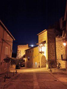 noche en las calles de Brihuega