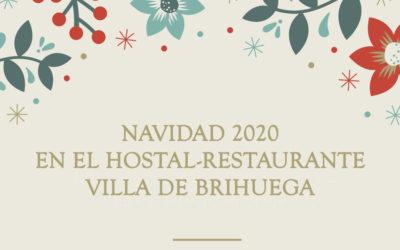 Navidad 2020 en el Hostal-Restaurante Villa de Brihuega