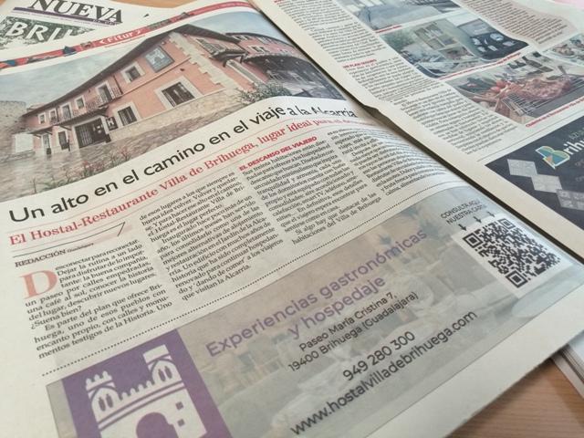 Villa de Brihuega en los medios