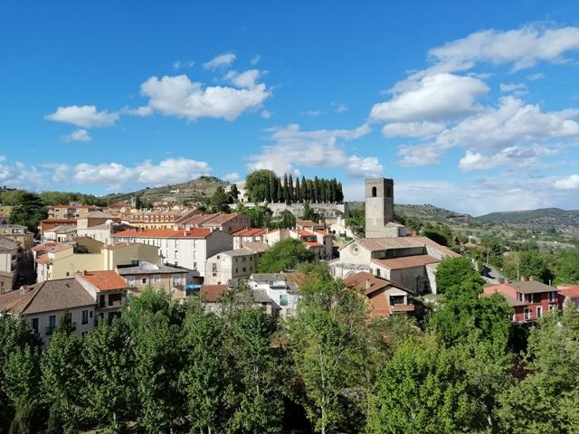 Vistas de la Villa de Brihuega.
