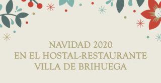 navidad en el hostal-restaurante Villa de Brihuega